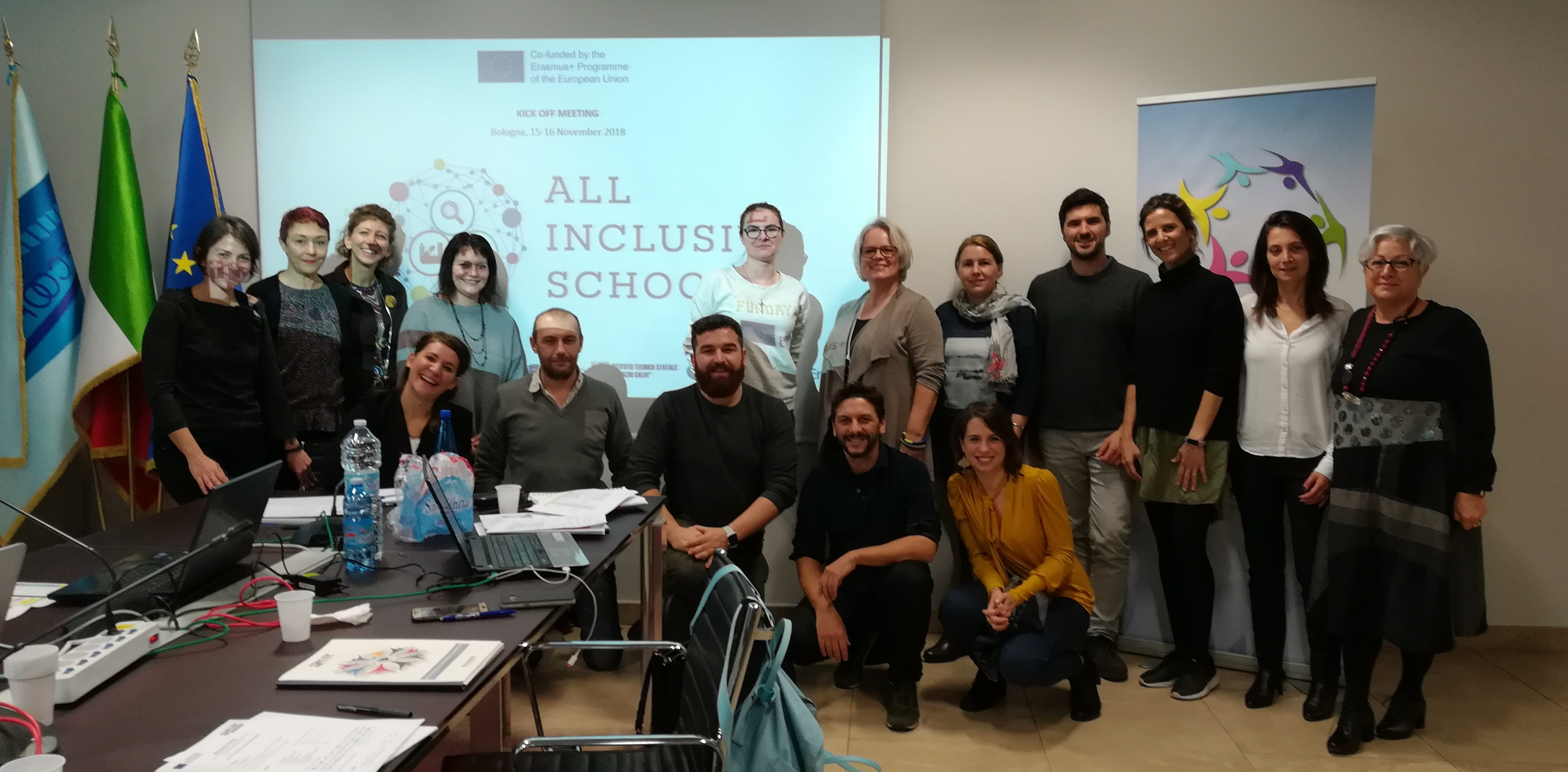 "PROGETTO ERASMUS+ ""ALL-INCLUSIVE SCHOOL"": SI PARTE!"