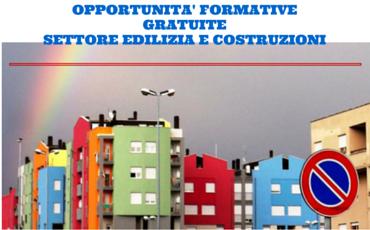 Settore Edilizia-Assegni Formativi e Formazione Gratuita