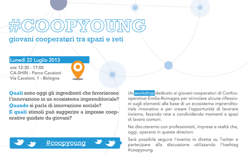 #COOPYOUNG: un workshop per giovani cooperatori tra spazi e reti