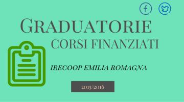 Graduatorie Corsi Finanziati Irecoop Emilia Romagna