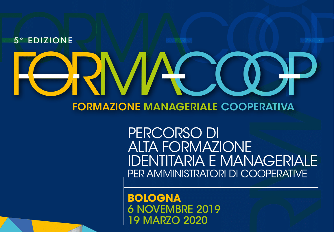 Online il programma della 5° edizione di Formacoop