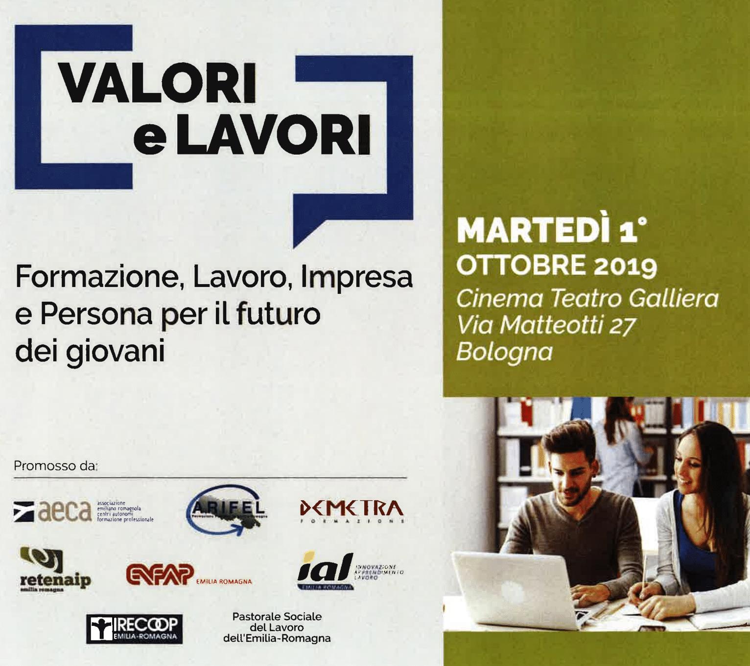 """SAVE THE DATE: CONVEGNO """"FORMAZIONE, LAVORO, IMPRESA E PERSONA"""""""